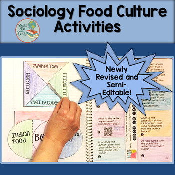 Sociology Food and Culture Activity