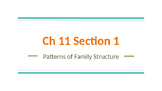 Sociology - Different Types of Family and Family Structure