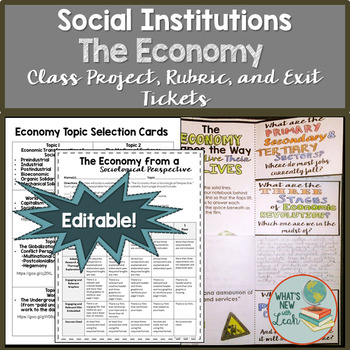 Sociology Economy Class Project