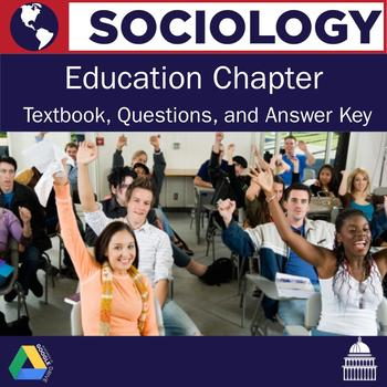 Sociology - Education Textbook Chapter and Questions