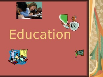Sociology: Education  powerpoint