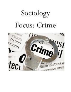 Sociology Focus Crime