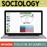 Sociology GROWING Bundle for Google and OneDrive Distance