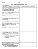 Sociology: Groups & Societies Film Study-Mean Girls Viewing Notes Sheet