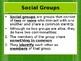 Sociology- Groups & Societies PowerPoint