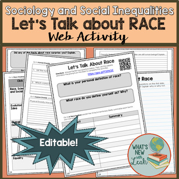 Sociology, Let's Talk about Race Web Activity