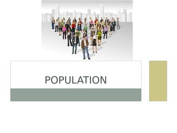 Sociology: Population powerpoint