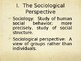 Sociology Power Point - Invitation to Sociology