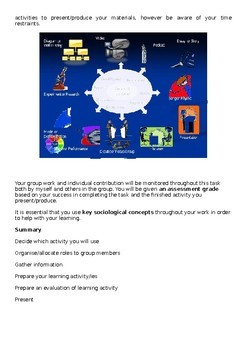 Sociology Project and Revision Materials on family, methodology and Education