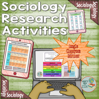 Sociology Research Activities for Google and OneDrive