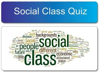 Sociology Social Class SMART Board Responder Quiz