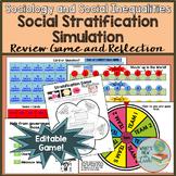 Sociology Social Stratification Simulation Game
