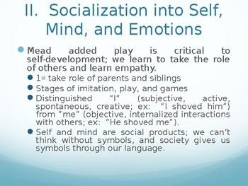 Sociology - Socialization