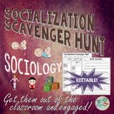 Sociology: Socialization Scavenger Hunt