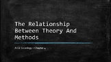 Sociology - The Relationship Between Theory And Methods - Chapter 4