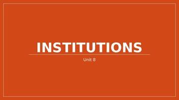 Sociology Unit 8- Social Institutions PPT
