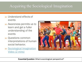 Ch 1.1 Sociological Perspective Invitation Sociology - Sociology You McGraw Hill