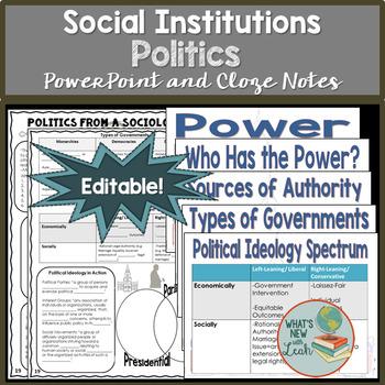 Sociology and Politics