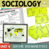 Sociology and Social Inequalities Interactive Notebook Complete Unit Bundle
