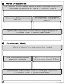 Sociology and the Media