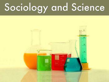 Sociology as Science