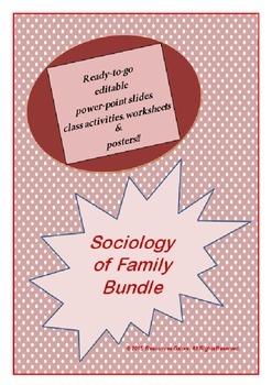 Sociology of Family Bundle