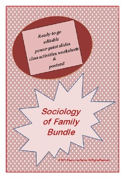 Sociology of Family Bundle