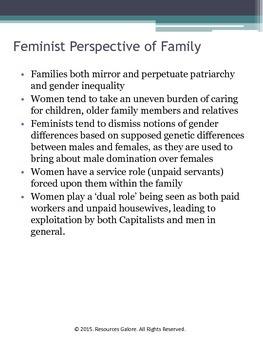 Sociology of Family: Functionalism, Feminism & Symbolic Interactionism