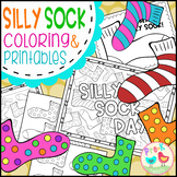 Sock Coloring Pages