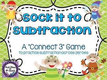Sock It To Subtraction (Subtracting Across Zeroes)
