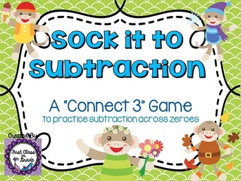 Sock It To Subtraction (Subtracting Across Zeroes)