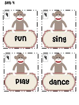 Sock Monkey ABC Order