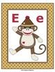 Sock Monkey ABC Posters