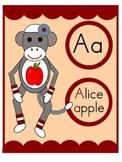 Sock Monkey Alphabet