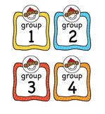 Sock Monkey Room Decor Labels Stationary Alphabet Numbers