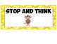 Sock Monkey Behavior Chart Ladder
