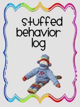 Sock Monkey Behavior Log
