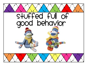 Sock Monkey Behavior Packet