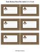Sock Monkey Blank Labels