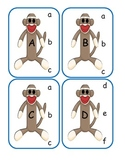 Sock Monkey Capital to Lowercase Clip Cards