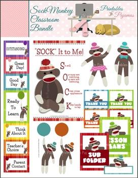 Sock Monkey Classroom Bundle