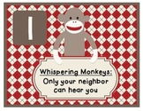 Beginning of the Year: Sock Monkey Classroom Pack