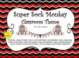 Sock Monkey Classroom Theme