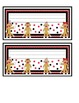 Sock Monkey Classroom Theme - Black Red Polkadot - 45 pages