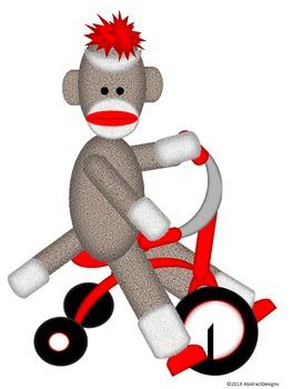 Sock Monkey Cutouts
