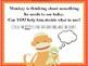 Sock Monkey Functions FREEBIE Early Language Lesson NO PRINT