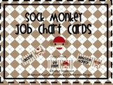 Sock Monkey Job Chart Cards