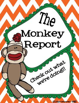 "Sock ""Monkey"" Organizational Binder Set"