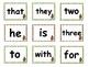 Sock Monkey Reading Street High Frequency Words Unit 1R Gr. 1