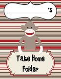 Sock Monkey Take Home / Writing / Poetry / Friday Folder Cover Insert